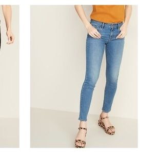 Old Navy Mid-Rise Pop Icon Skinny Jeans in Willow